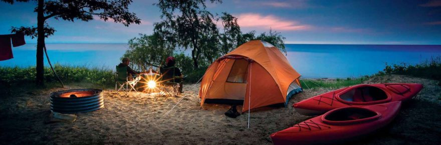 Camping Shop for Family Camping Tents